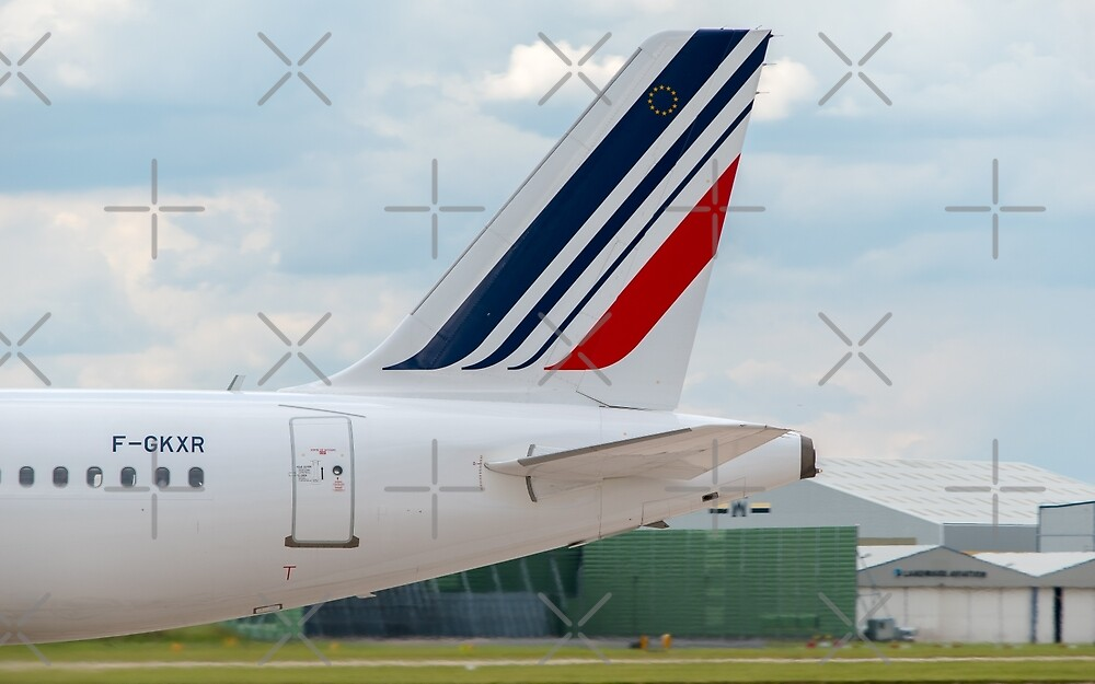 Air France Airbus A320 tail livery by Russell102