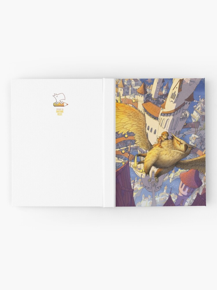 Alternate view of The spiral city Hardcover Journal