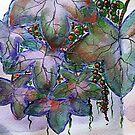 Efeu Aquarell von pixelcafe