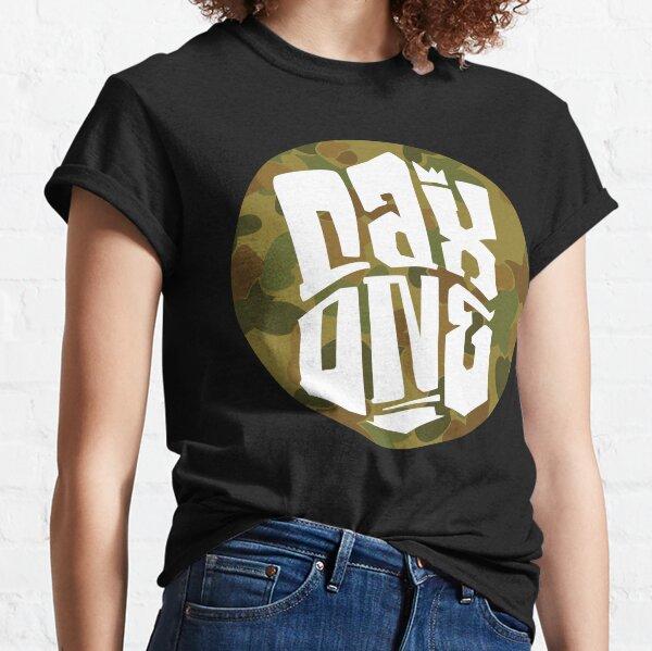 Cax One-Logo in Tarnfarben Classic T-Shirt