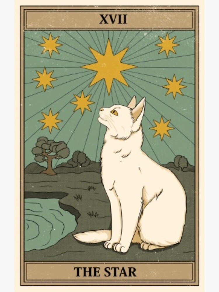 the star cat tarot by ultravibes