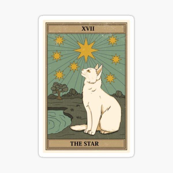 le tarot du chat étoilé Sticker