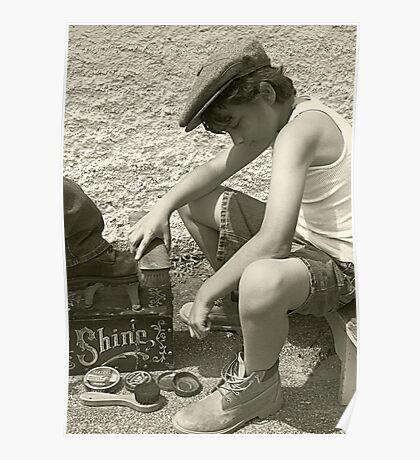 Shoeshine Boy Poster