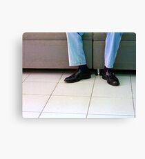 Shiny Kicks Canvas Print