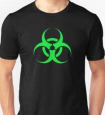 Biologische Gefahr - grün Slim Fit T-Shirt