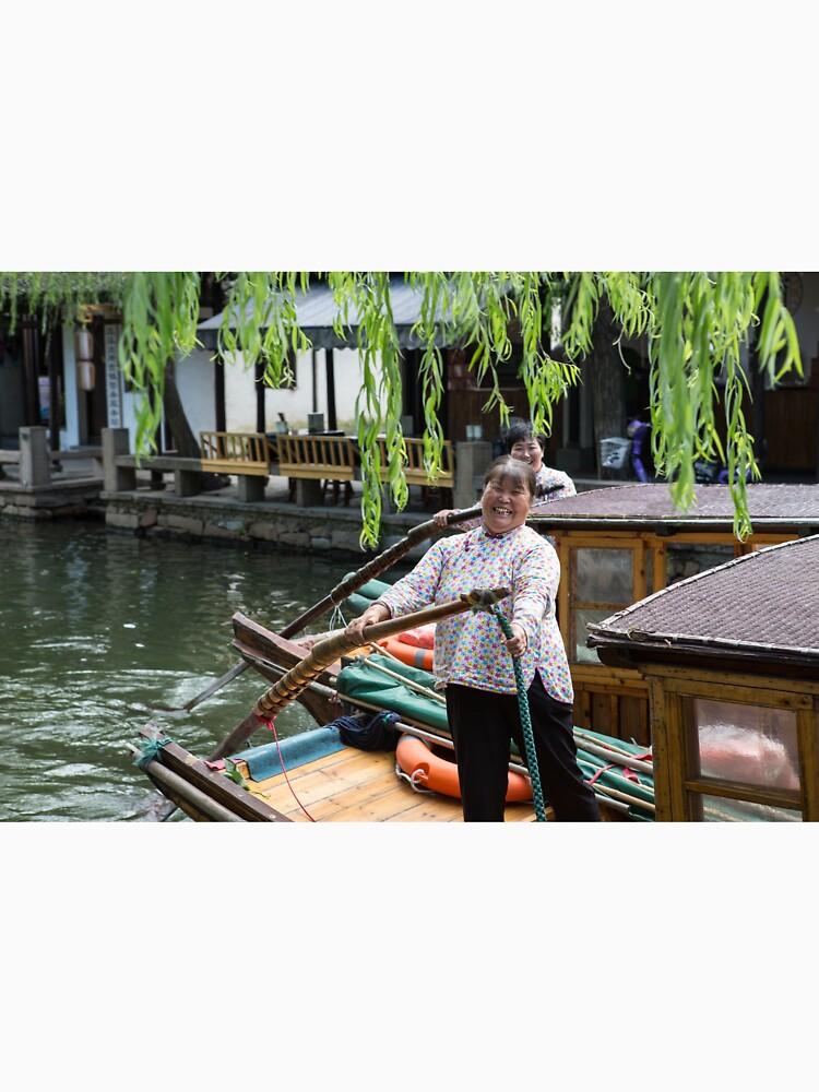 Water Village of Zhouzhuang by moronif