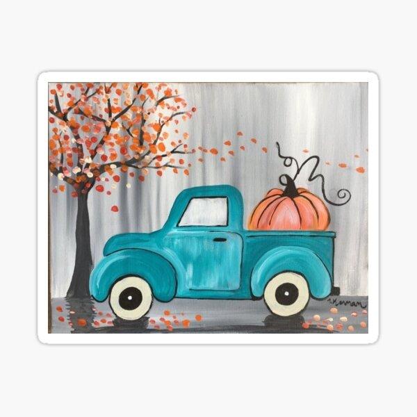 Teal Pumpkin Truck Sticker