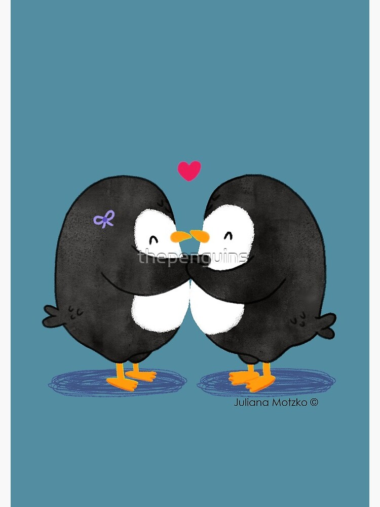 Falling in Love Penguins by thepenguins
