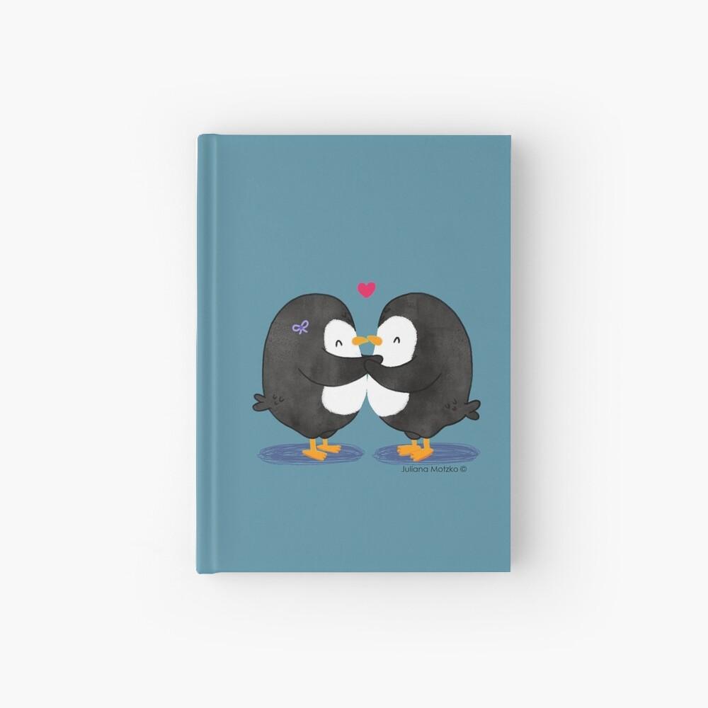 Falling in Love Penguins Hardcover Journal