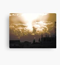 Wild Sunset Canvas Print