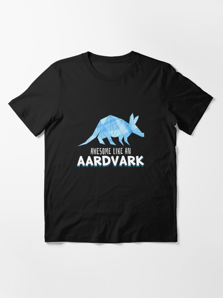Alternate view of Animal Art - Awesome Like An Aardvark Essential T-Shirt