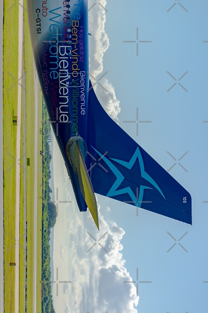 Air Transat Airbus A330 tail livery by Russell102