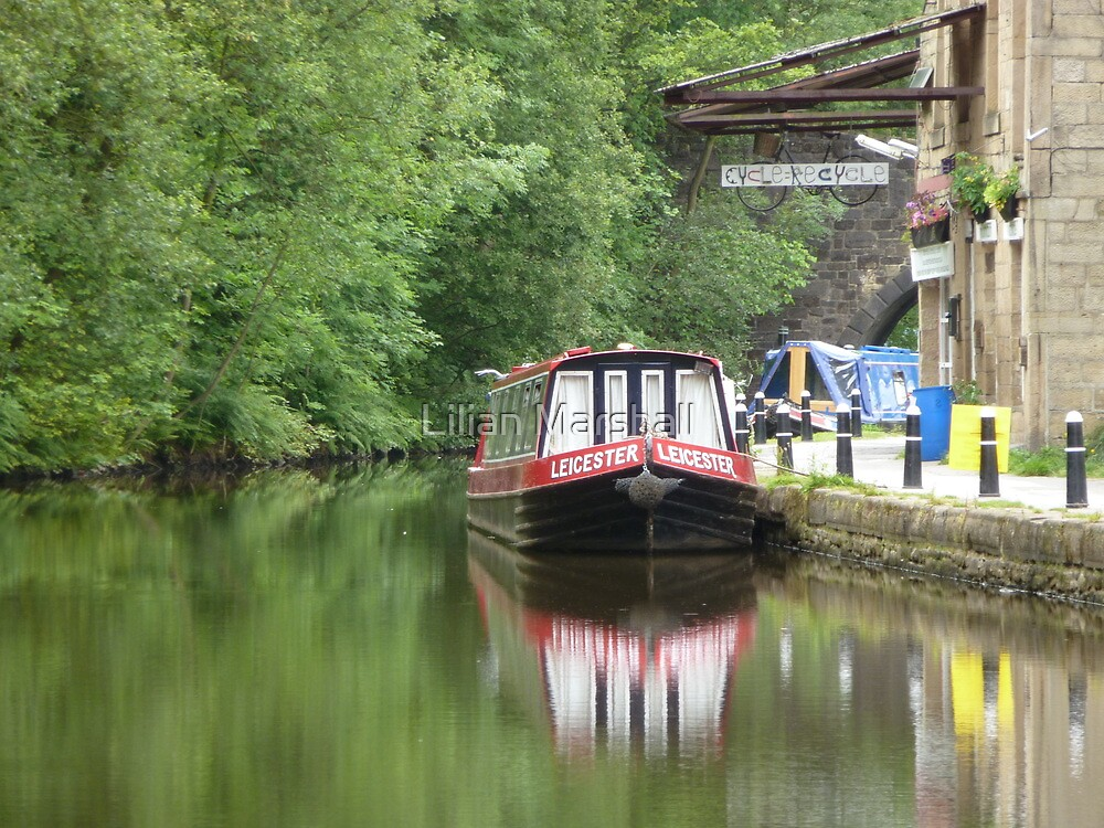 Rochdale Canal by Lilian Marshall