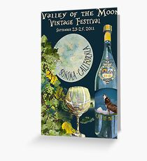 Valley of the Moon Vintage Festival 2011 Greeting Card