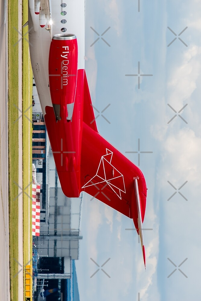 Denim Air Fokker F100 tail livery by Russell102