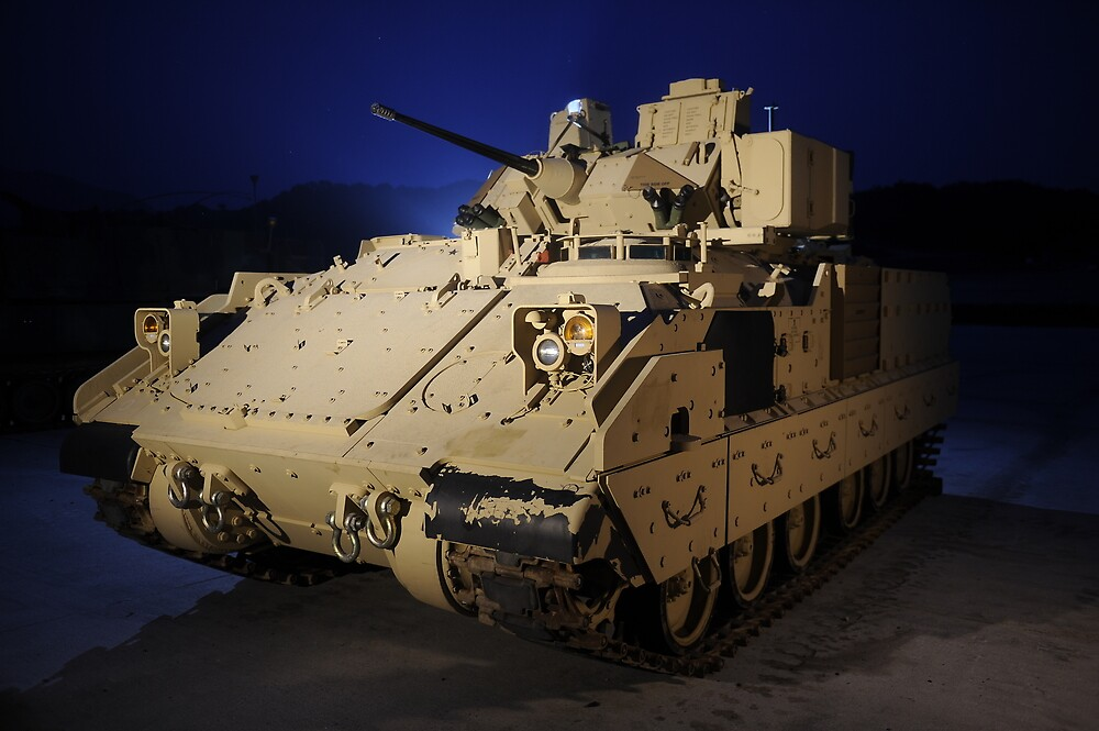 M2A3 Bradley Fighting Vehicle by Kyle Jerichow