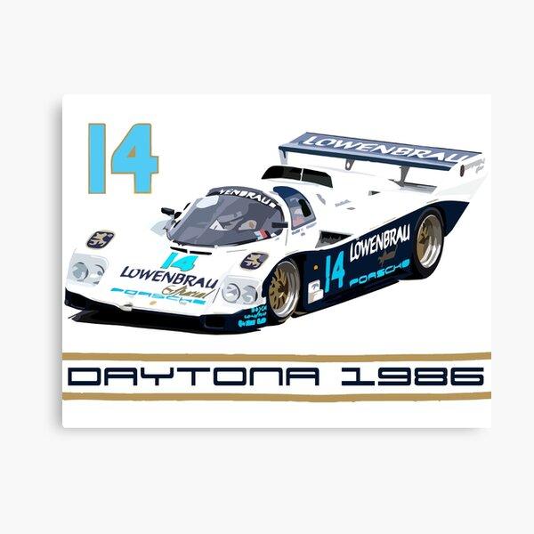 Derek Bell 962 IMSA GTP Group C Race Car Canvas Print