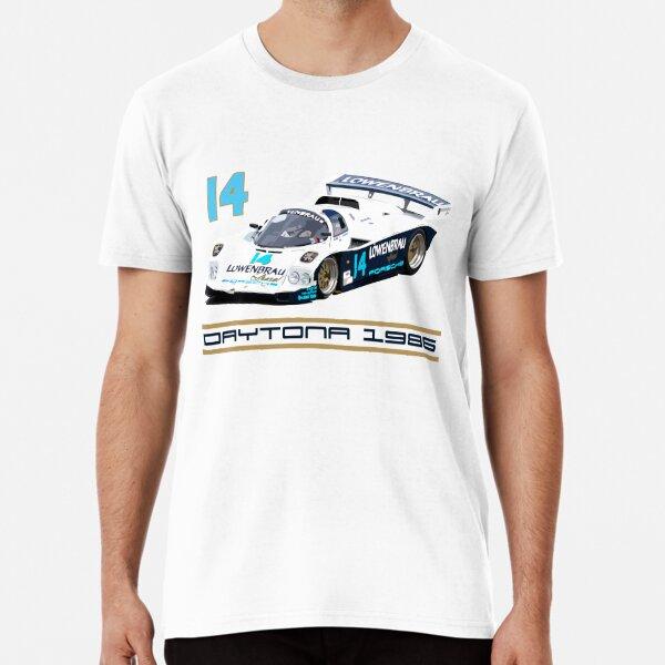 Derek Bell 962 IMSA GTP Group C Race Car Premium T-Shirt
