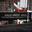 Jolie Brise in Lerwick by NordicBlackbird