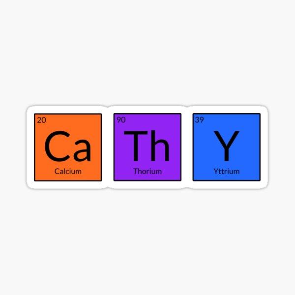 CaThY Sticker