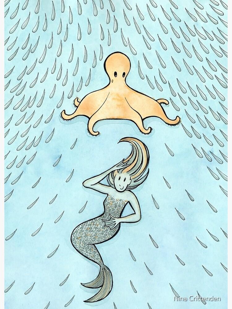 The Mermaid's Umbrella by ninacrittenden