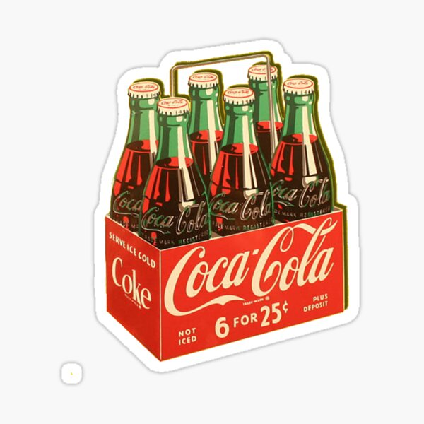 Coca Cola Sticker