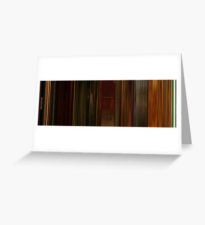 Moviebarcode: Irréversible (2002) Greeting Card