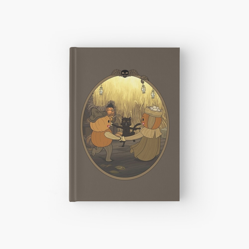 Dancing Time at the Huskin' Bee Hardcover Journal