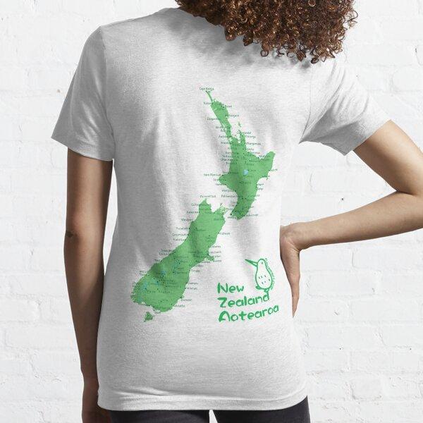 New Zealand's Map Essential T-Shirt