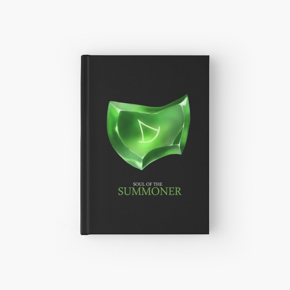 Soul of the Summoner -black Hardcover Journal