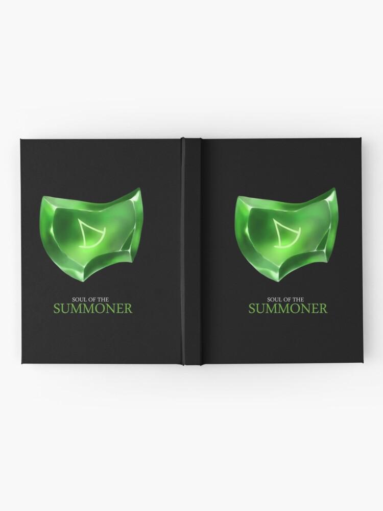 Alternate view of Soul of the Summoner -black Hardcover Journal