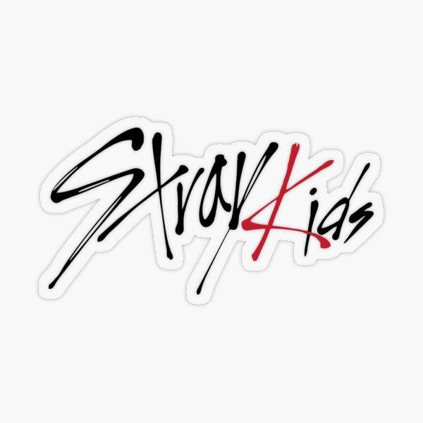 """Stray Kids Logo Sticker"" Sticker by ntlttc | Redbubble"