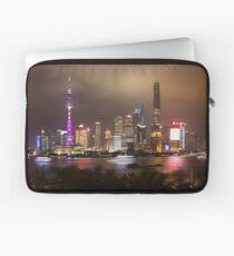 Blick von der Bar Rouge Shanghai Laptoptasche