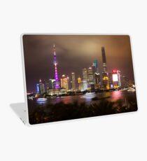 Blick von der Bar Rouge Shanghai Laptop Folie