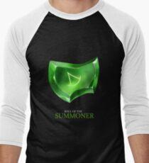 Soul of the Summoner -black Men's Baseball ¾ T-Shirt