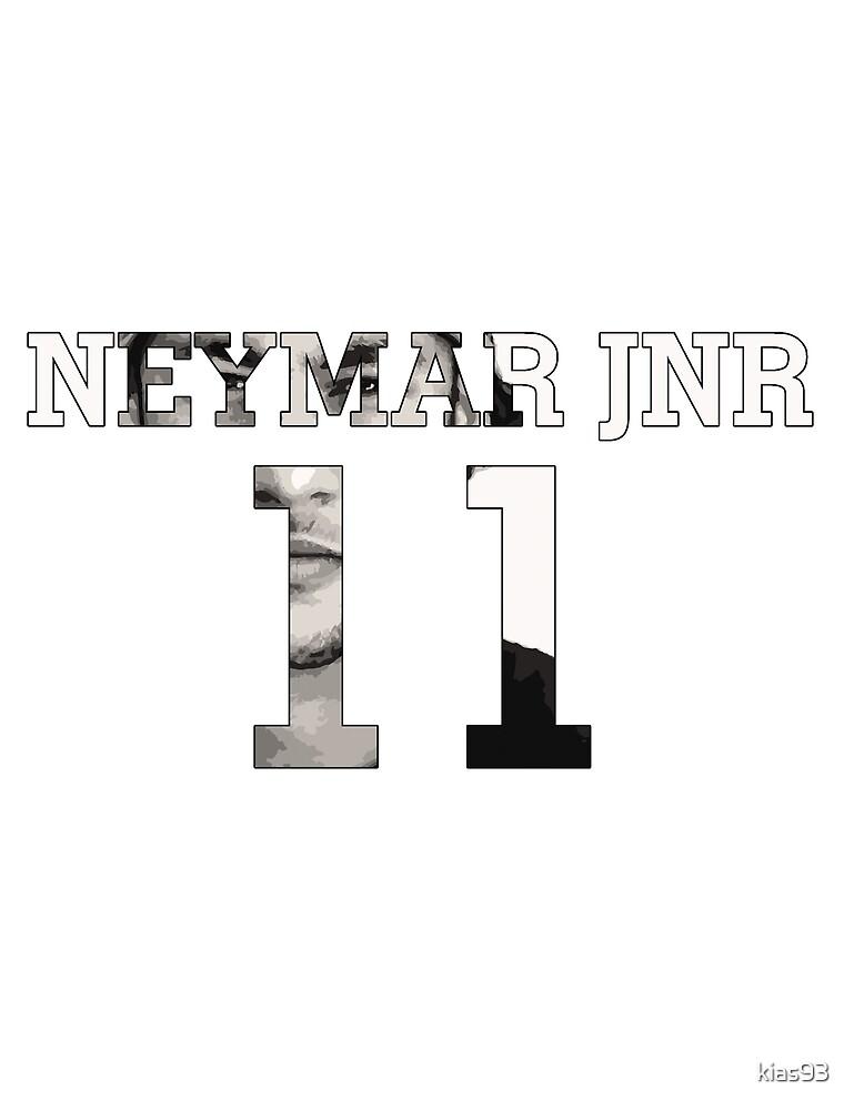 Neymar Jnr 11 - Black & White by kias93