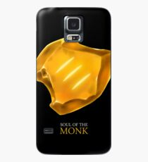 Soul of the Monk -black Case/Skin for Samsung Galaxy