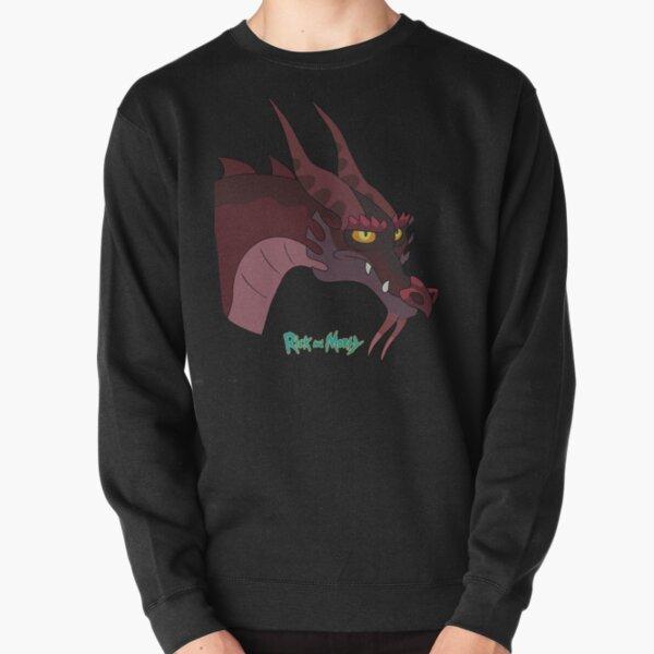 Rick and Morty - Dragon Pullover Sweatshirt