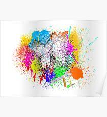 Splatterfly Poster