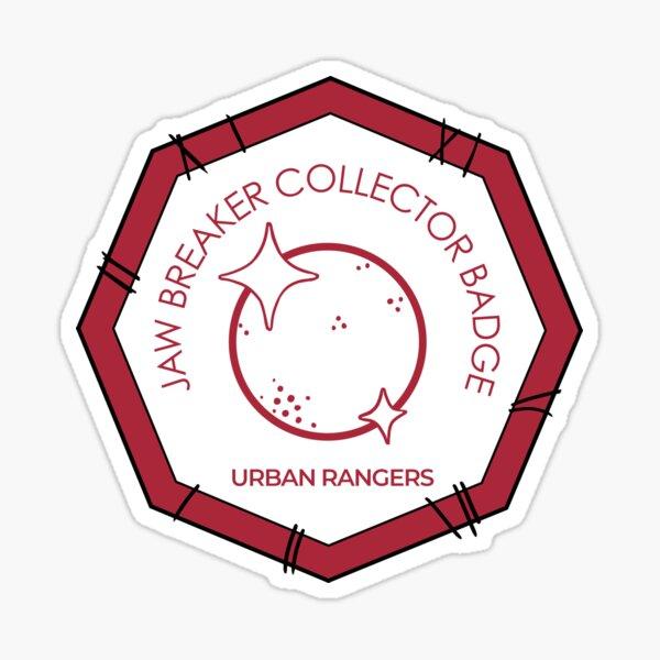 Ed, Edd and Eddy - Urban Rangers Jaw Breaker Collection Badge Sticker