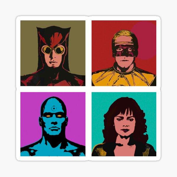 Gardiens Warhol Sticker