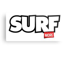Quot Surf More Quot Stickers By Ludlumdesign Redbubble