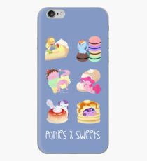 Ponies x Sweets iPhone Case