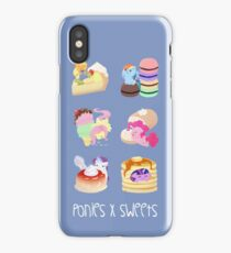 Ponies x Sweets iPhone Case/Skin