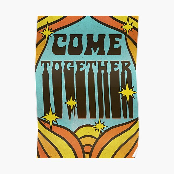 come together design Poster