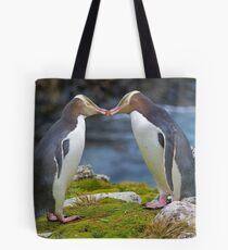 Yellow-eyed Penguins Tote Bag