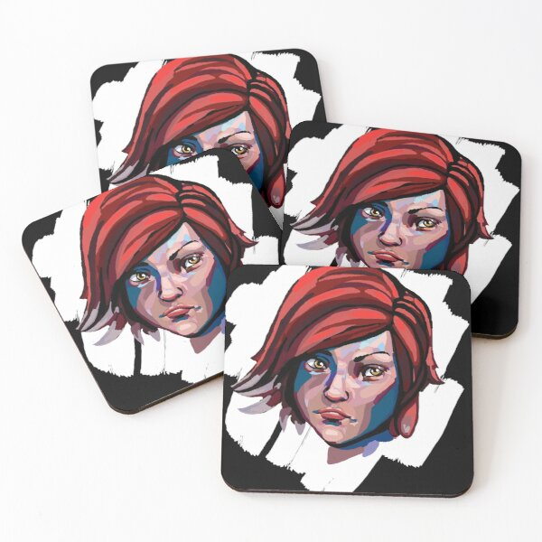 Borderlands Lilith Coasters (Set of 4)