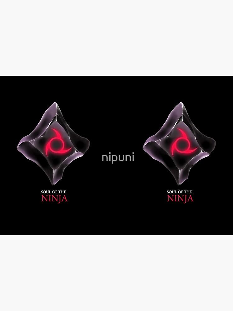Soul of the Ninja -black by nipuni