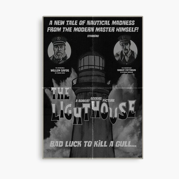 The Lighthouse Vintage Poster Canvas Print