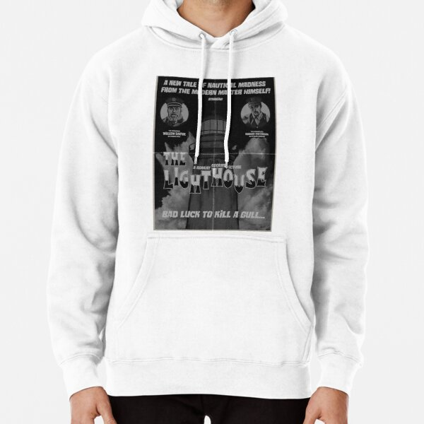 The Lighthouse Vintage Poster Pullover Hoodie